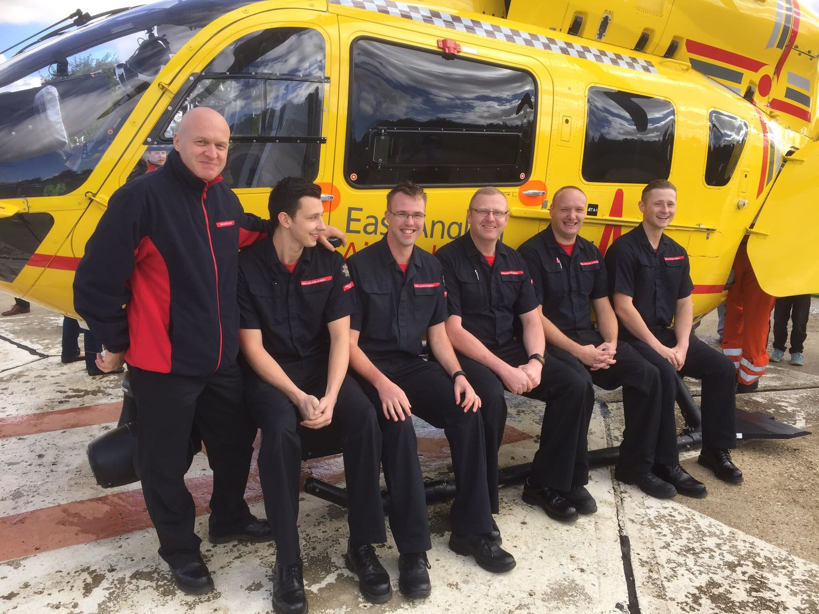 Declans crew at Kings Lynn